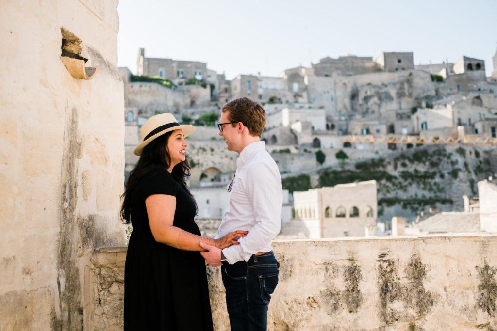 honeymoon photoshoot in matera