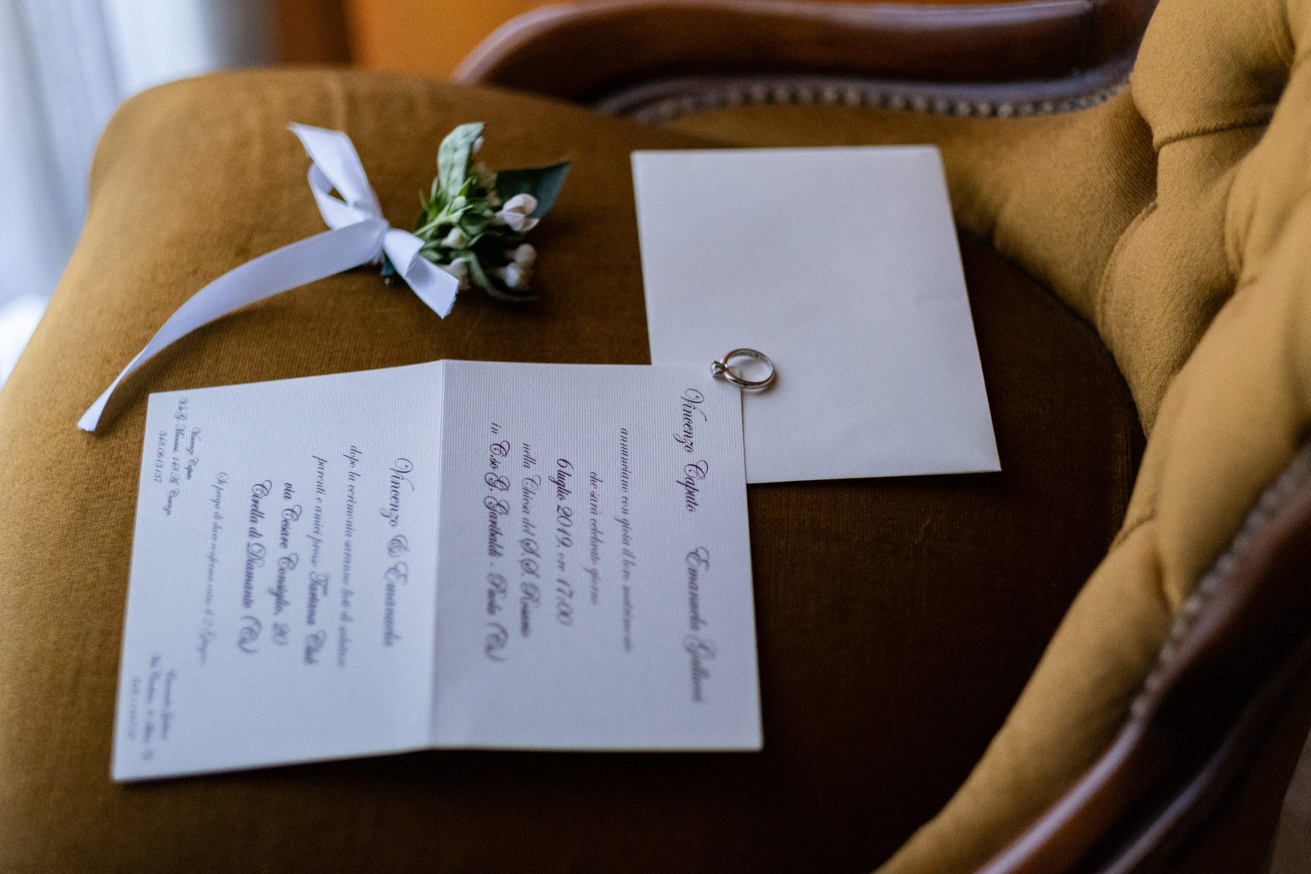 wedding in diamante calabria italy Stationery