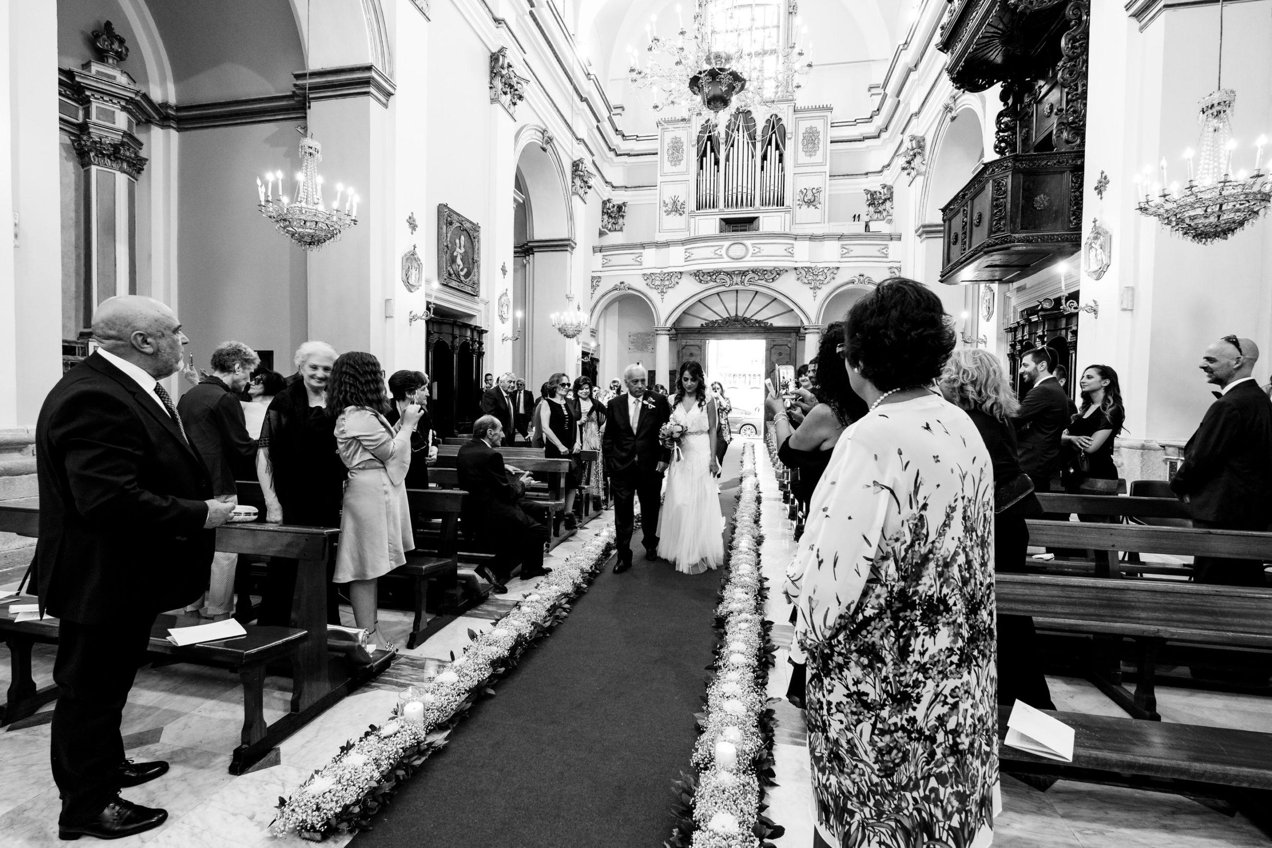 Bride Entrance into Church