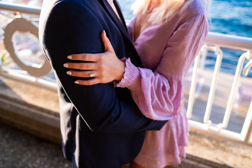 engagement ring sorrento wedding proposal
